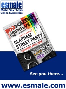 Come join team esmale for the 8th annual Clapham street party!