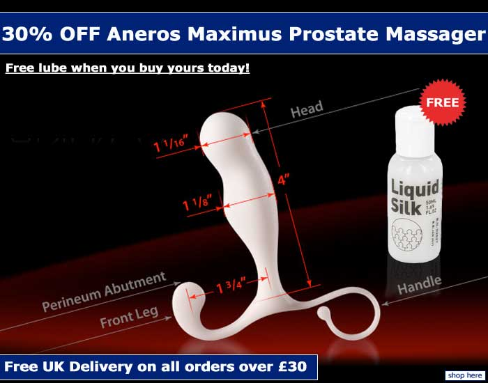 FREE Lube with all Aneros orders!