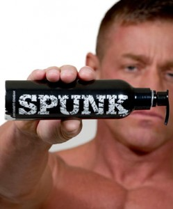 SPUNK is the lube that looks like cum?