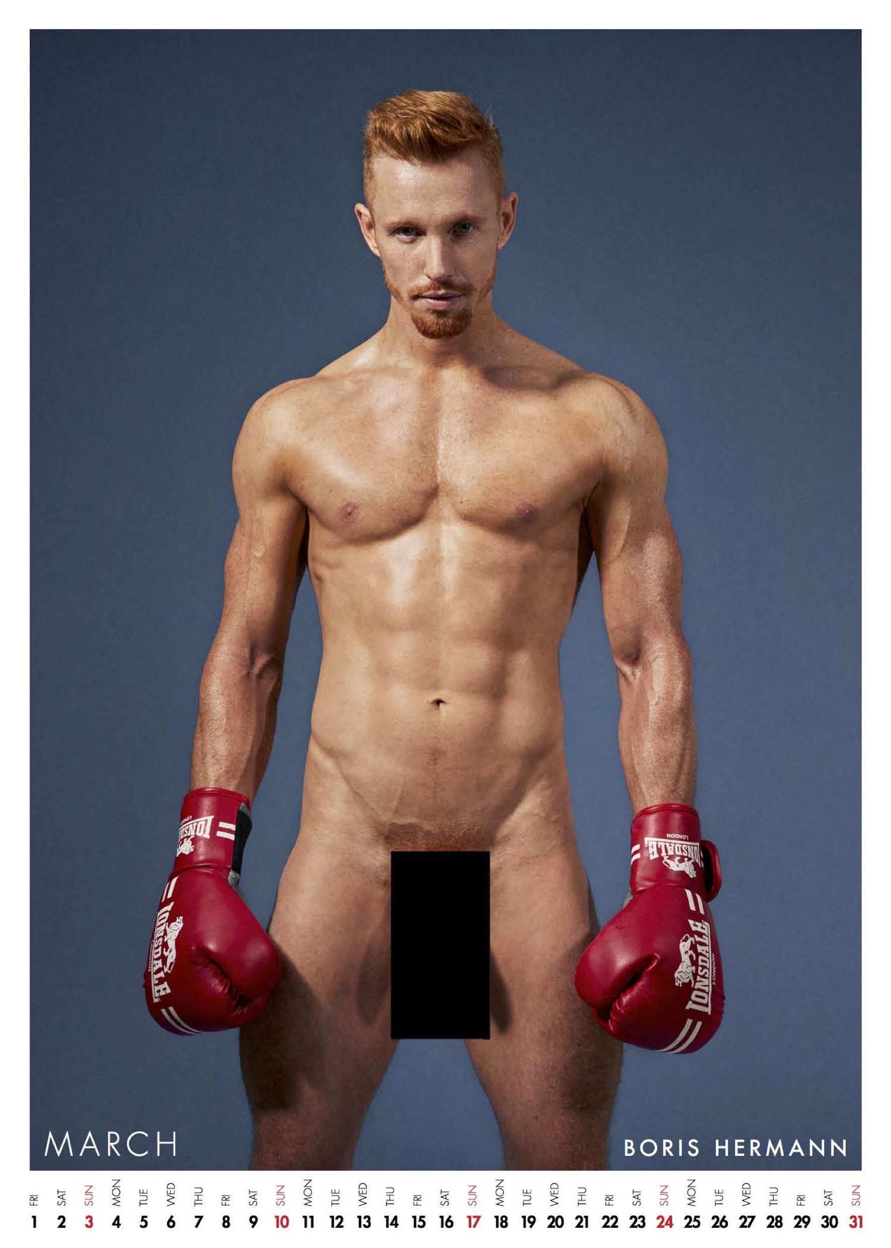 Shot By Red Hot Photographer Thomas Knights And Art Director Eliot James Frieze The Calendar Raises Money For Movember Foundations Prostate Cancer